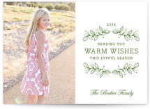 Joyful Season Holiday Photo Cards