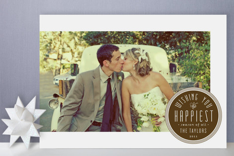 The Happiest Season Holiday Photo Cards