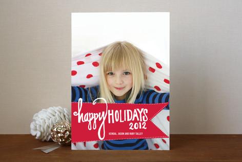 Varsity Holiday Photo Cards