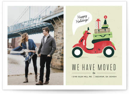 Mod Move Holiday Photo Cards