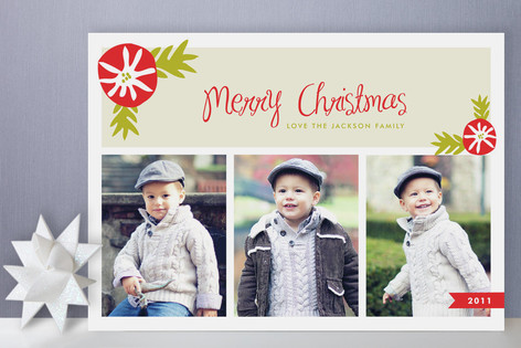Mistletoe Merry Holiday Photo Cards