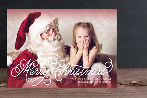 Loopy Holiday Photo Cards