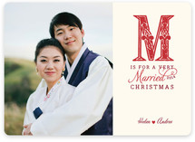 M is for Married
