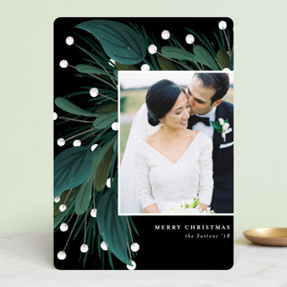 Garland Greeting Holiday Photo Cards
