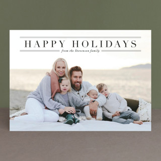 Martha's Vineyard Holiday Photo Cards