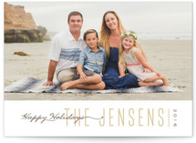 To the Point Holiday Photo Cards