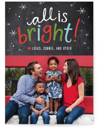 Brightest Year Holiday Photo Cards