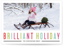 Brilliant Holiday Holiday Photo Cards
