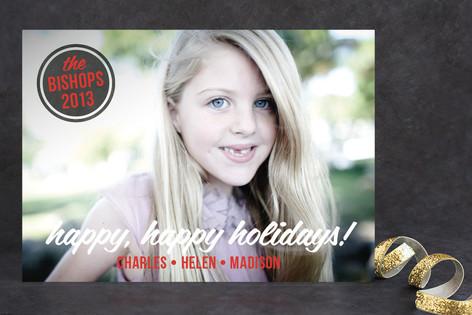 Retro Tidings Holiday Photo Cards