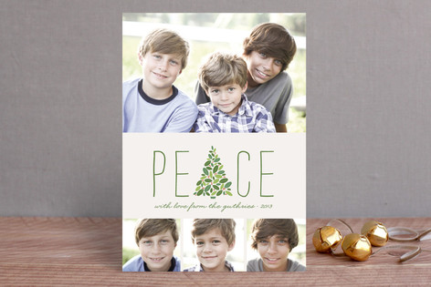 Arbor Peace Holiday Photo Cards