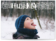 Holly Jolly Christmas by Laura Bolter Design