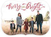 Merry & Bright Hand Lettered
