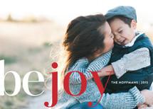 Be Joy Holiday Photo Cards