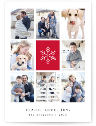 Heavenly Peace Holiday Photo Cards