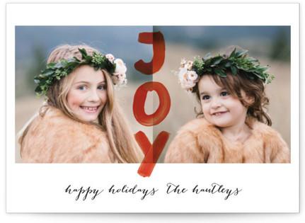 Happy Joy Holiday Photo Cards