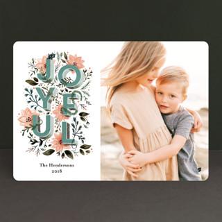 joyful always Holiday Photo Cards