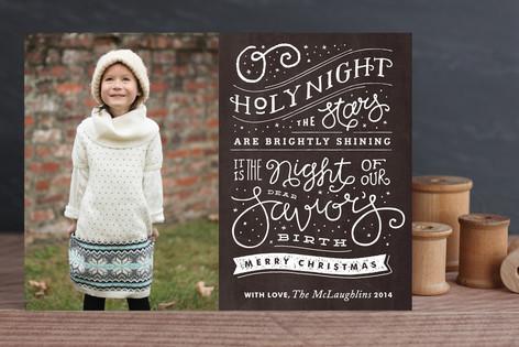 Brightly Shining Holiday Photo Cards