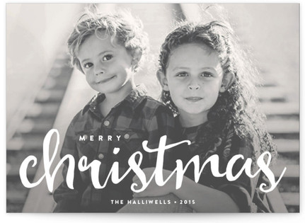 Snapshot Holiday Photo Cards