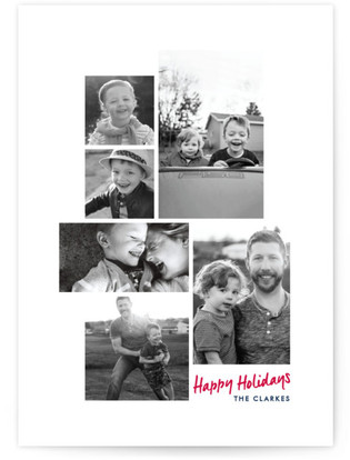 Minimal Gallery Holiday Photo Cards