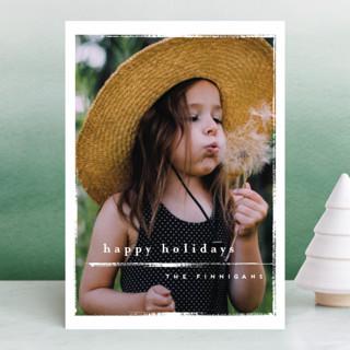 chiffon Holiday Photo Cards
