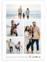 Simple Wish Holiday Photo Cards