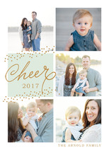 Sprinkles of Cheer Holiday Photo Cards