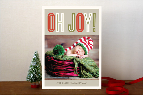 Bold Joy Holiday Photo Cards