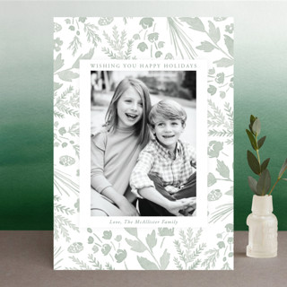 Among the Foliage Holiday Photo Cards