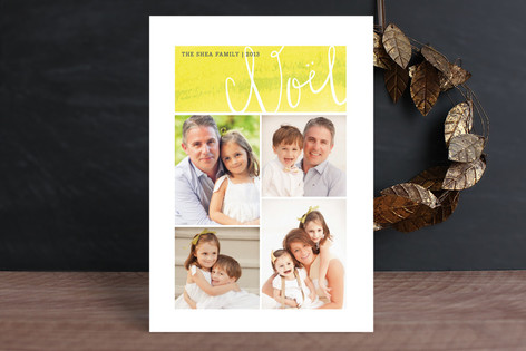 Noel Grid Holiday Photo Cards