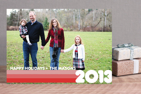 A Flashback Holiday Holiday Photo Cards