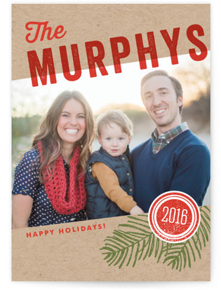 We Are Family Holiday Photo Cards