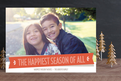 Happiest Season Holiday Photo Cards