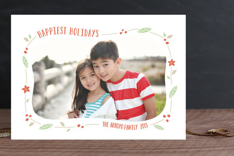 Festive Frame Holiday Photo Cards