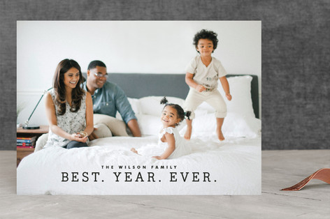 Best Year Ever Holiday Photo Cards
