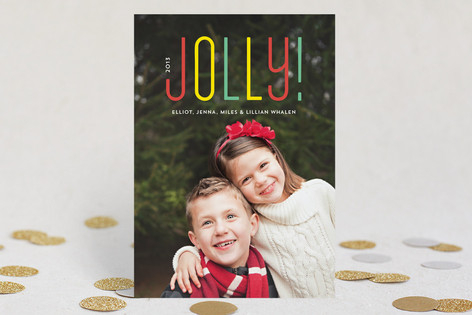 So Jolly Holiday Photo Cards