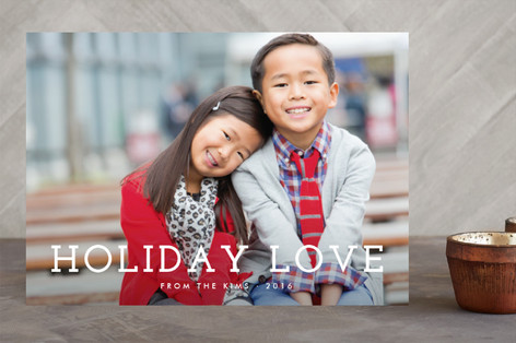 Share the Love Holiday Photo Cards