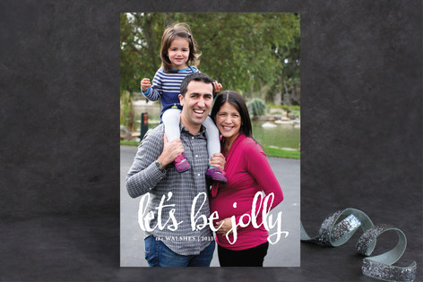 Be Jolly Holiday Photo Cards