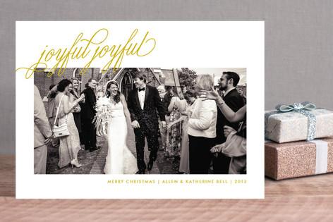 Joyful Joyful Holiday Photo Cards