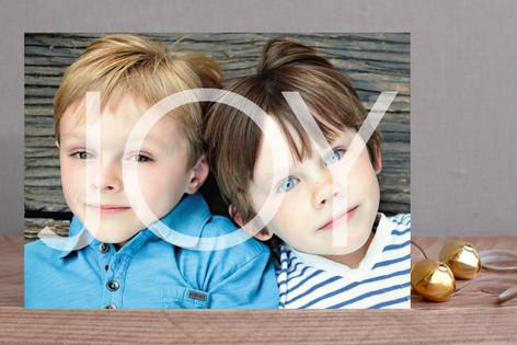 Joy this Season Holiday Photo Cards