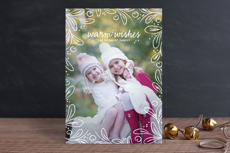 Among the Leaves Holiday Photo Cards