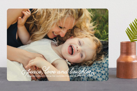 Season's Giggles Holiday Photo Cards