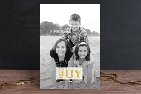 Joy Sparkles Holiday Photo Cards