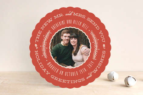 Very Married Holiday Photo Cards