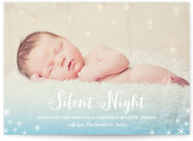 Silent Night? Holiday Photo Cards