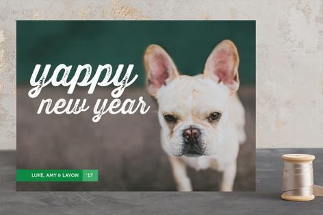 Yappy Holidays Holiday Photo Cards