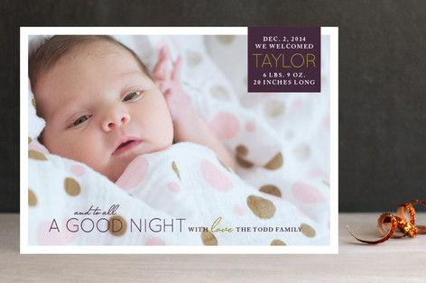Twas the Night Holiday Photo Cards