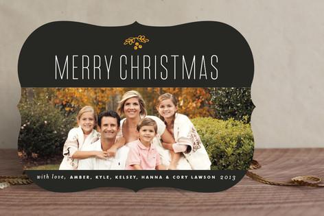 Big Merry Christmas Holiday Photo Cards