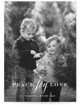 Peace Joy Love by Sarah Curry
