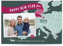 Holiday Map - Europe East