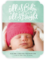 All Is Calm, All Is Bright Holiday Photo Cards